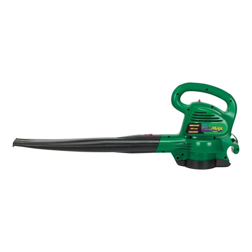 Weed Eater EBV200W 200 mph 350 CFM Electric 12 Amp Leaf Blower/Vacuum-DISCONTINUED