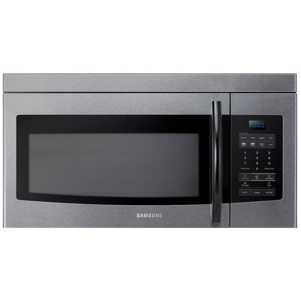 Samsung 1.6 cu. ft. Over the Range Microwave in Stainless Steel-DISCONTINUED