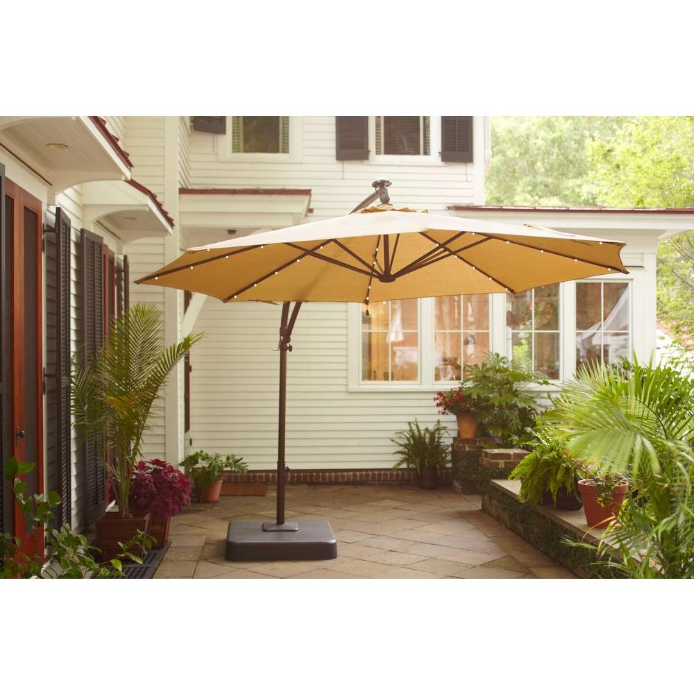 Hampton Bay 11 Ft Replacement Solar Shade TanYJAF052LCPYTN