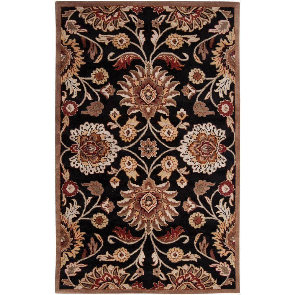 Artes Maroon 2 ft. x 3 ft. Accent Rug