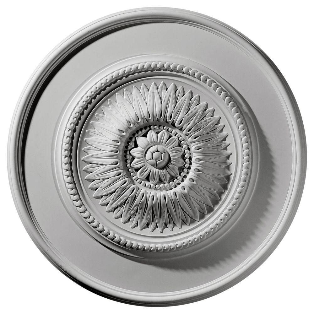 23-1/2 in. Floral Ceiling Medallion