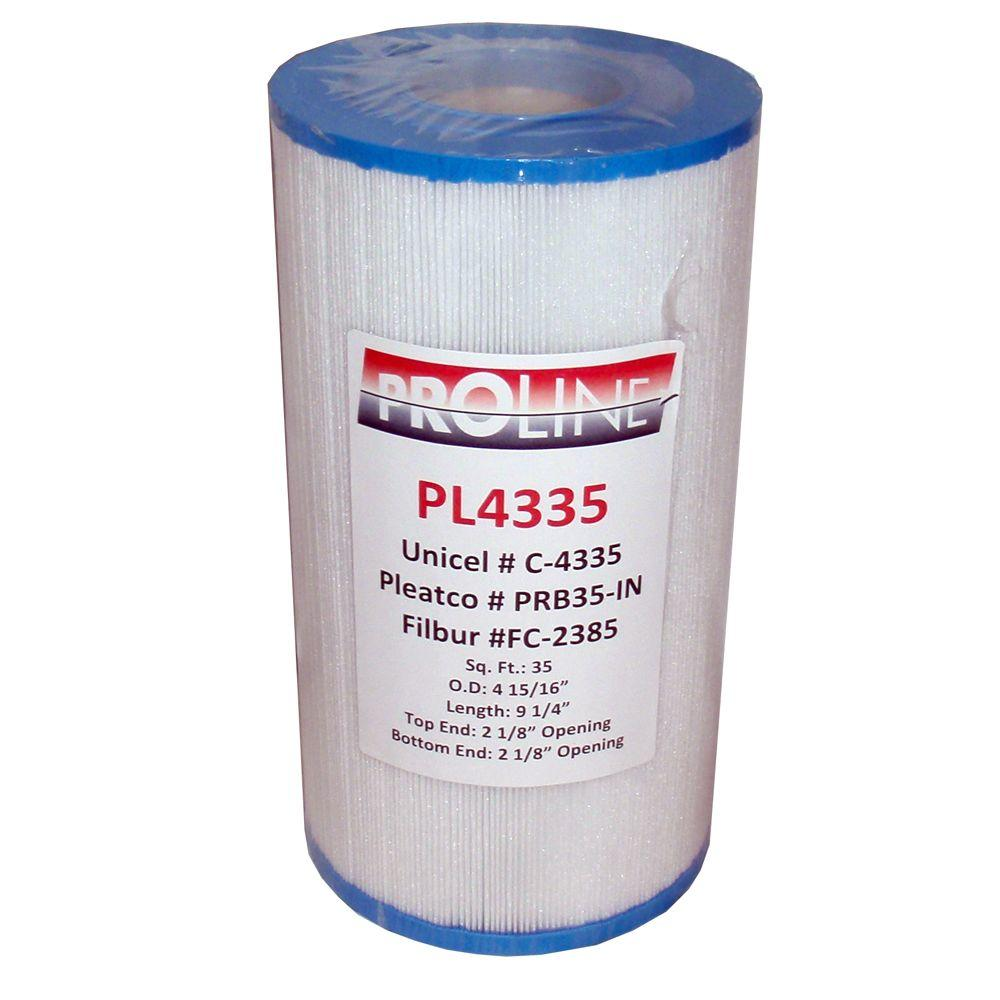 Smart Spa Proline 35 sq. ft. Filter Cartridge for Rainbow, Waterway Plastics, Custom Molded Products