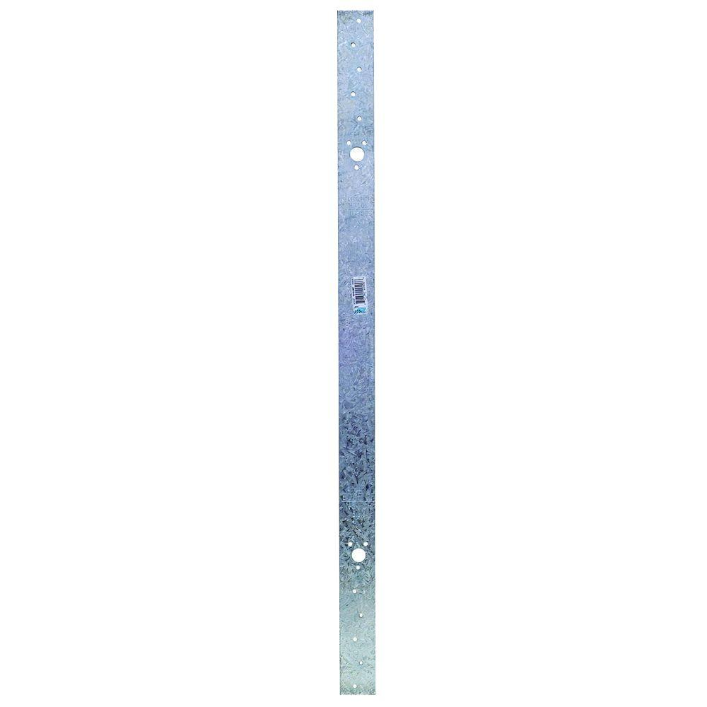 ZMAX Galvanized 16-Gauge 28-5/6 in. Retrofit Plate Strap