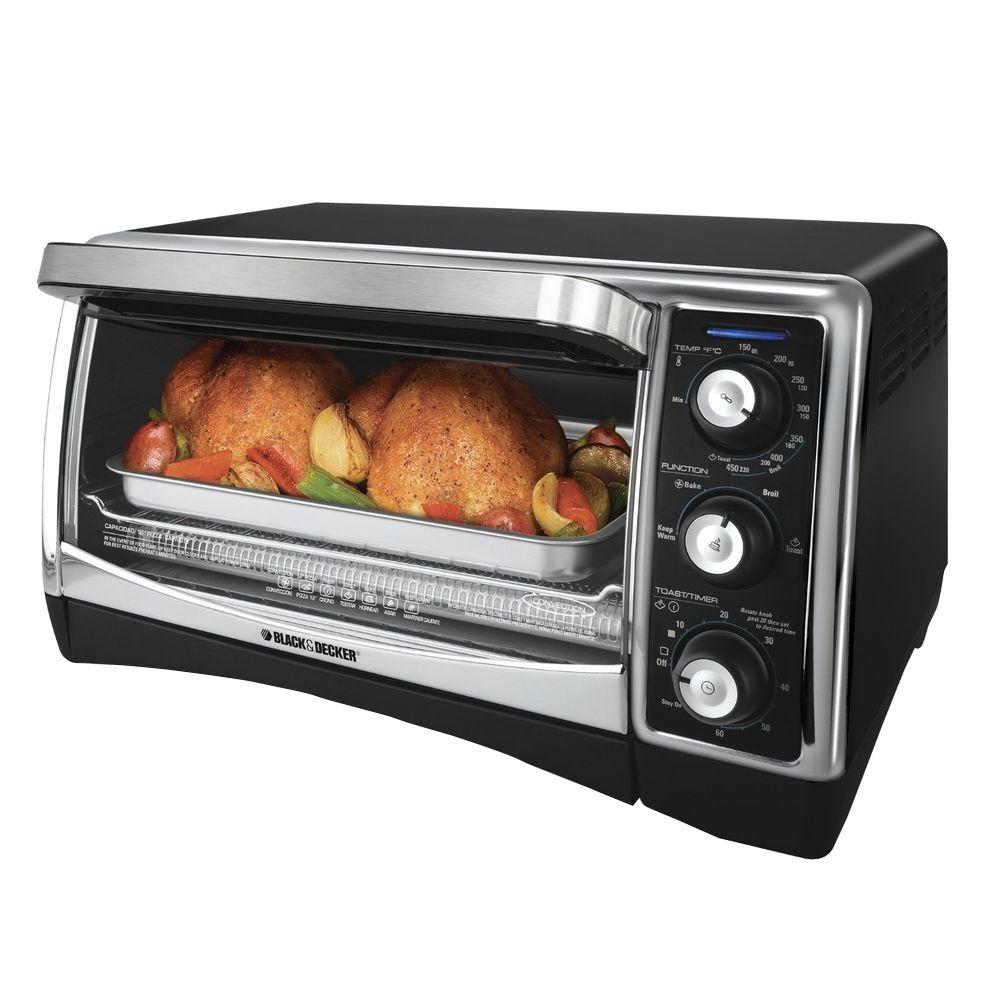 BLACK+DECKER 6-Slice Convection Toaster Oven-DISCONTINUED