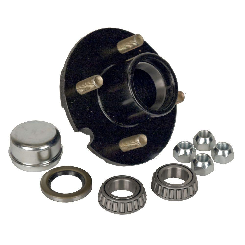 4-Bolt Hub Repair Kit for 1 in. Axle Pressed Stud for