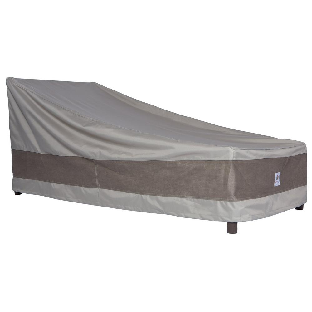 Duck Covers Elite 86 in L Patio Chaise Lounge Cover with