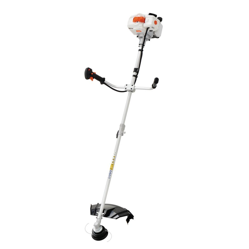 52cc Gas 2 Cycle 2-in-1 Grass String Trimmer and Brush Cutter