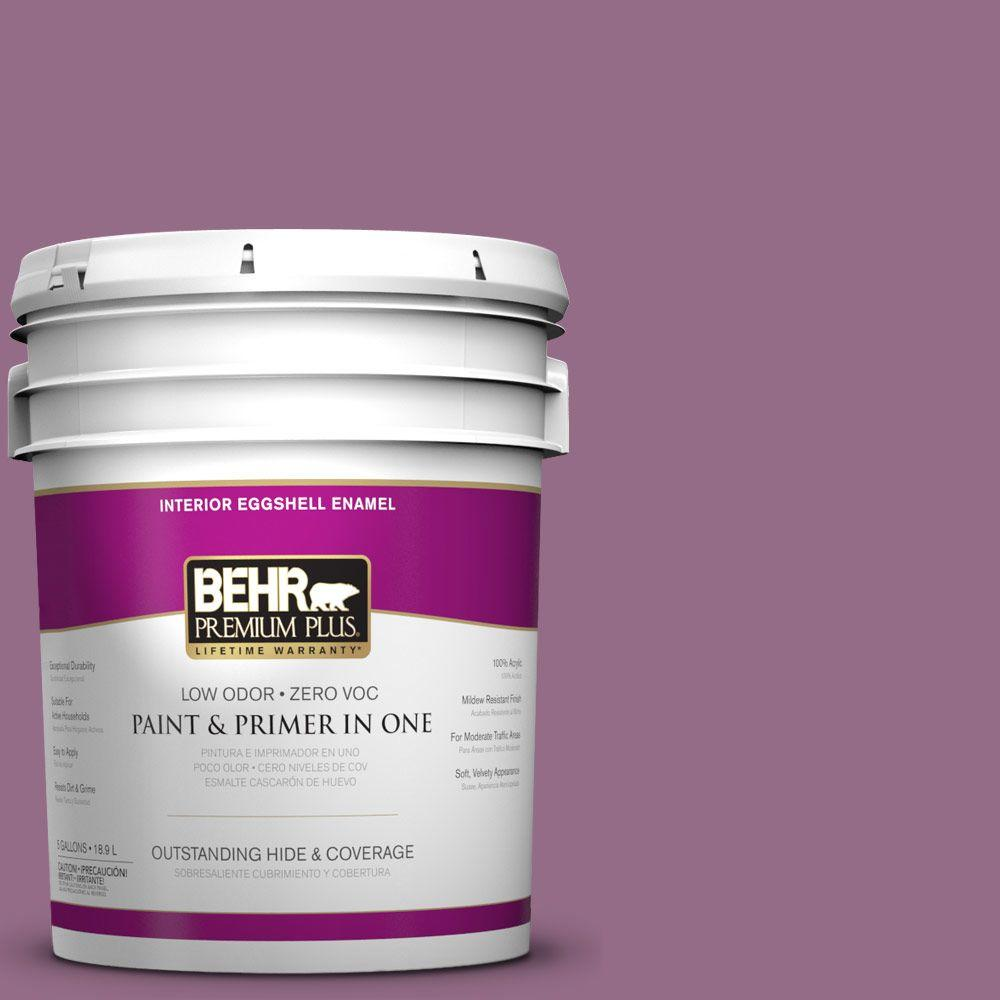 5-gal. #M110-6 Sophisticated Lilac Eggshell Enamel Interior Paint