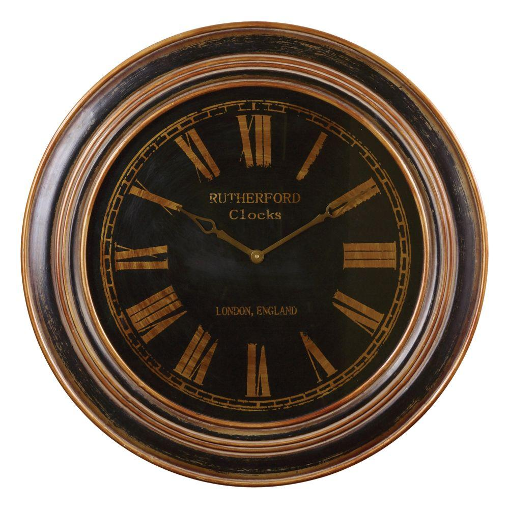 Global Direct 31-1/2 in. Traditional Round Wall Clock