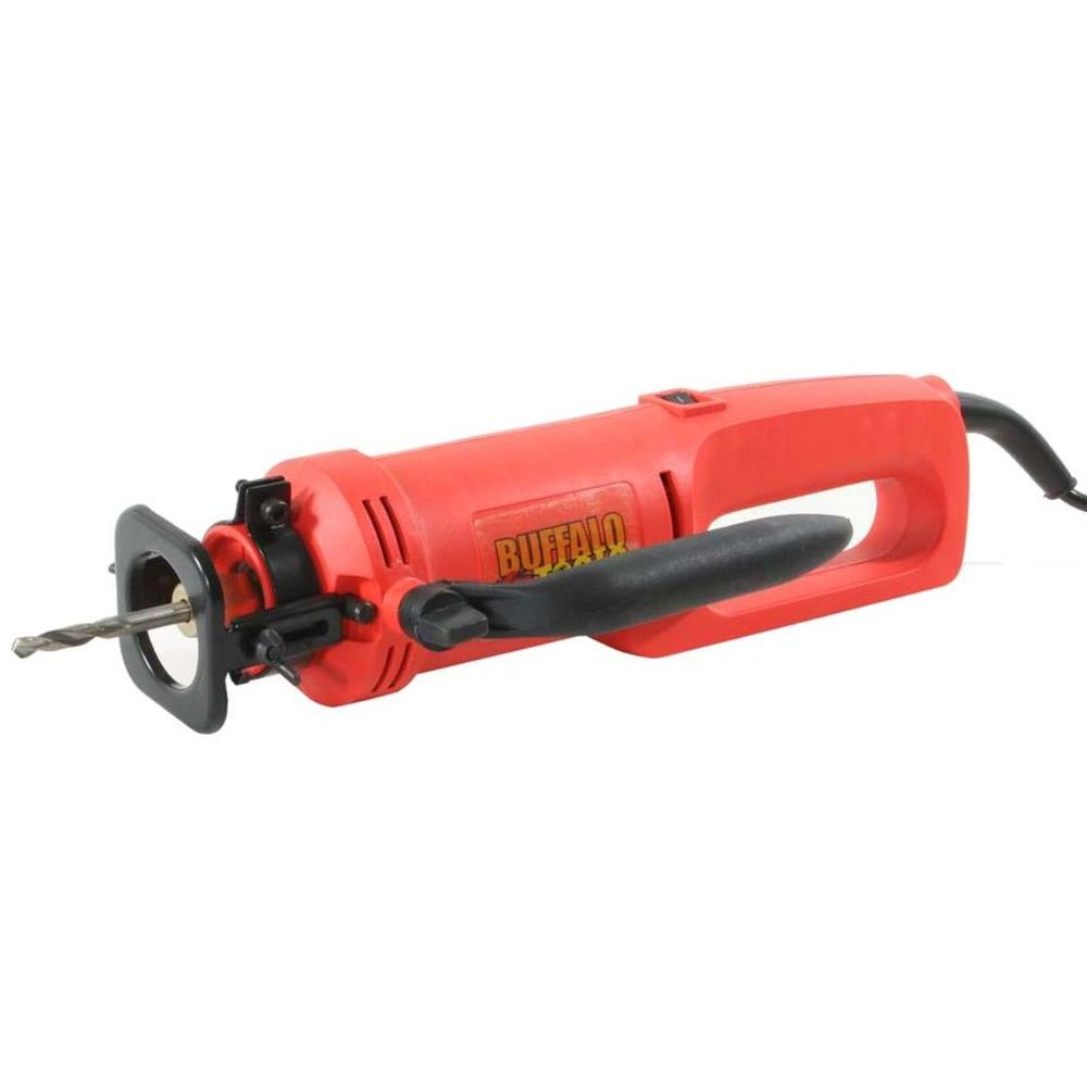 Buffalo Tools 3.5-Amp 2800 RPM Corded Spiral Cut Out Saw-HMDSBX -