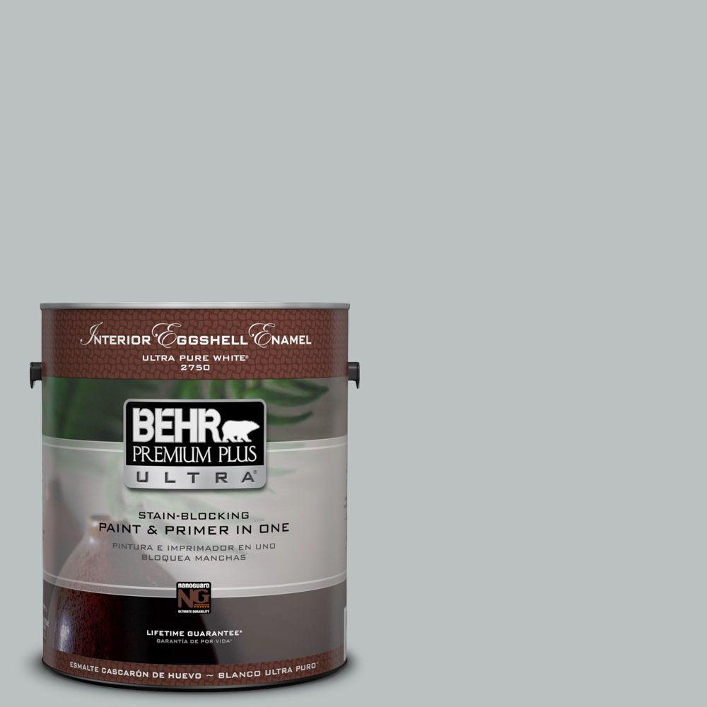 1-gal. #PPF-26 Polished Rock Semi-Gloss Enamel Interior Paint