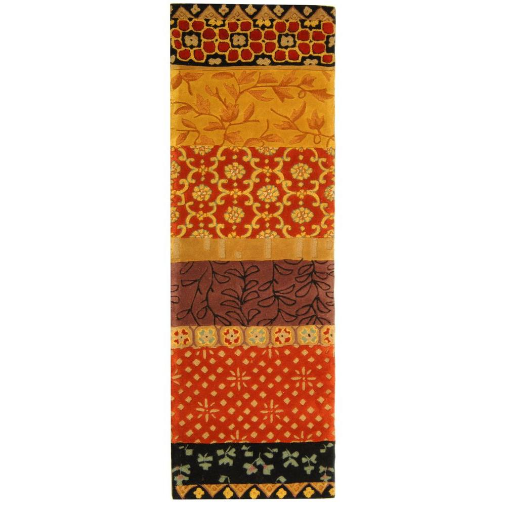 Safavieh Rodeo Drive Rust/Gold 2 ft. 6 in. x 8 ft. Runner
