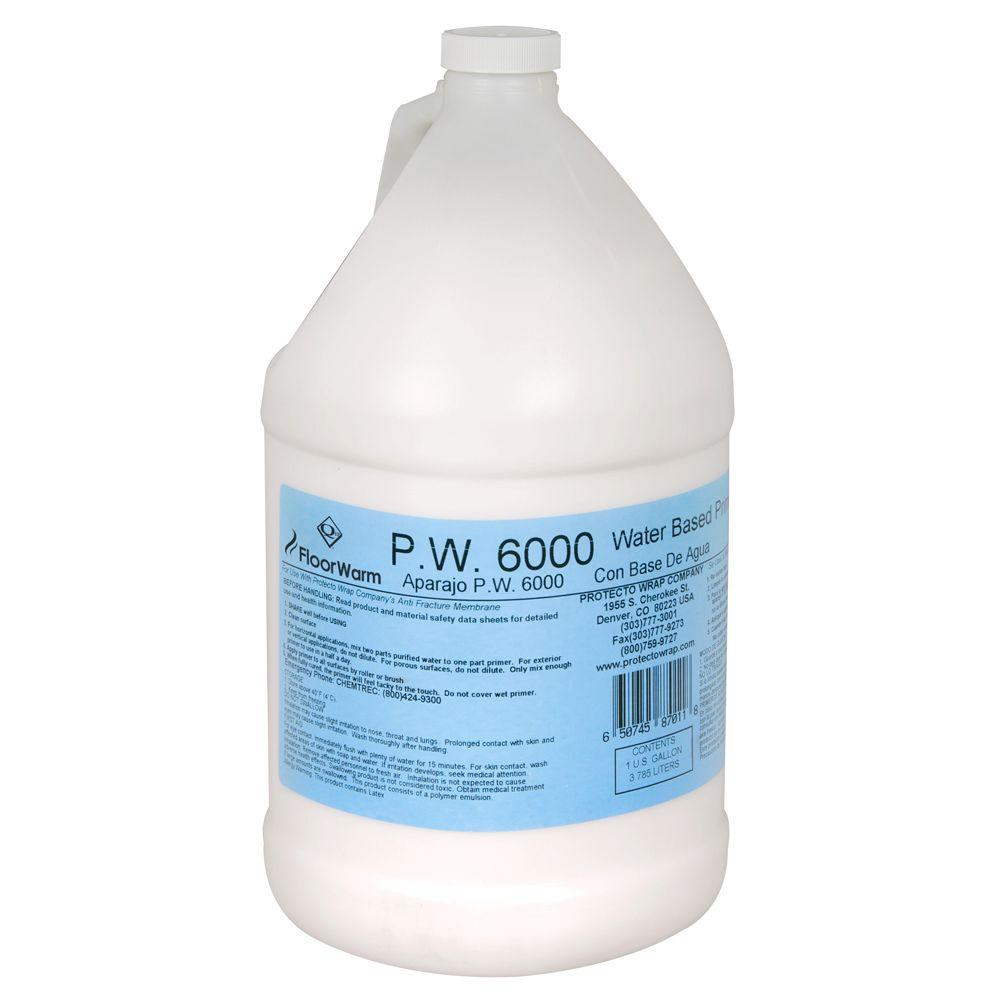 FloorWarm Roll-On Primer - 1 gal. for Underfloor Radiant Heat/Anti-fracture Protection System