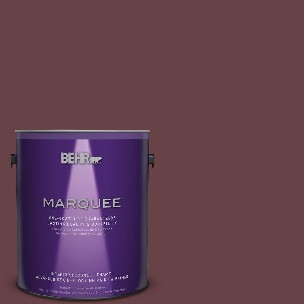 BEHR MARQUEE 1 gal. #MQ1-14 Twinberry One-Coat Hide Eggshell Enamel Interior Paint
