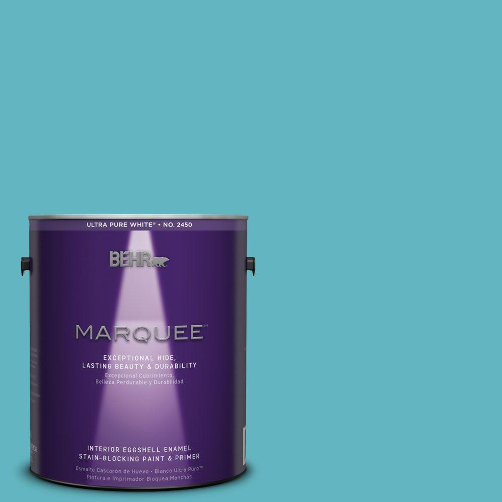 Interior Paint, Exterior Paint & Paint Samples: BEHR MARQUEE Paint 1-gal. #MQ4-51 Adonis Eggshell Enamel Interior Paint 245401