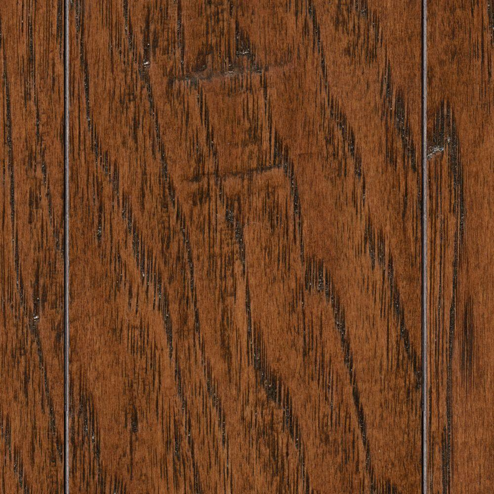 HS Distressed Archwood Hickory 3/8 in. T x 3-1/2 in. and