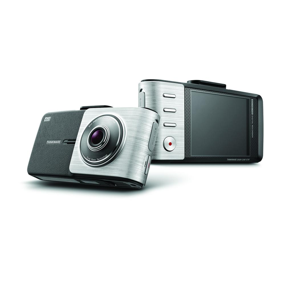 Thinkware X500 Dash Cam 1080p Sony Exmor with Built-In GPS, 2.7