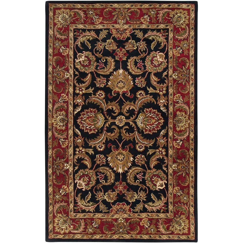 Artistic Weavers Albion Black 5 ft. x 8 ft. Area Rug-Albion-58