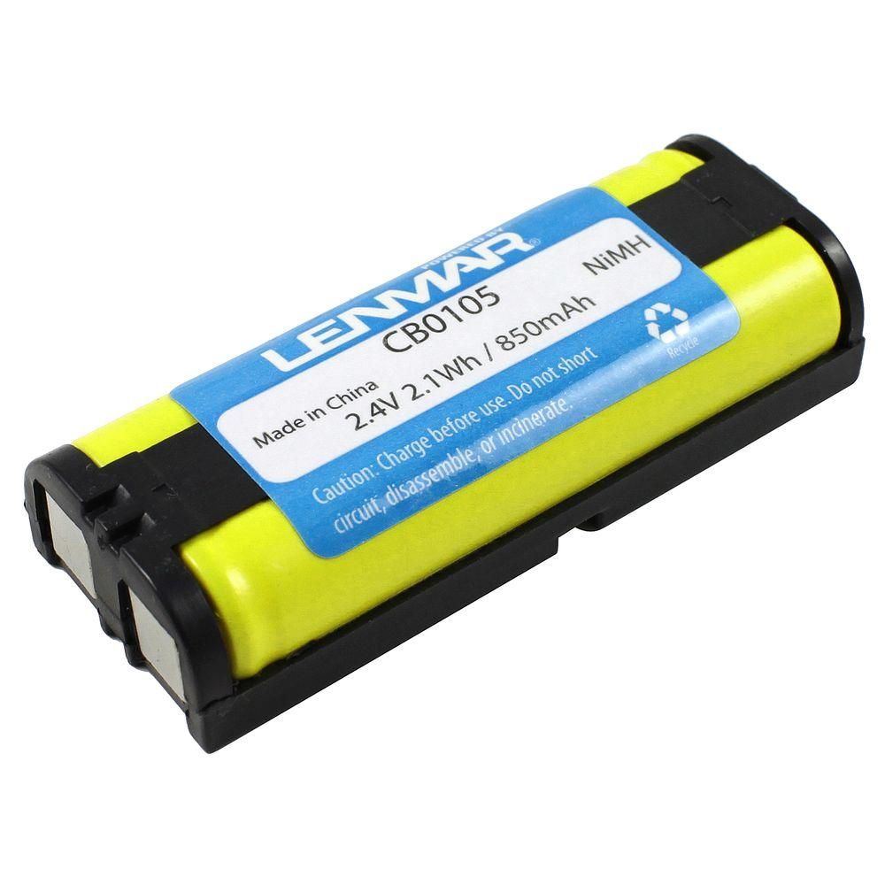 Nickel-Metal Hydride 850mAh/2.4-Volt Cordless Phone Replacement Battery