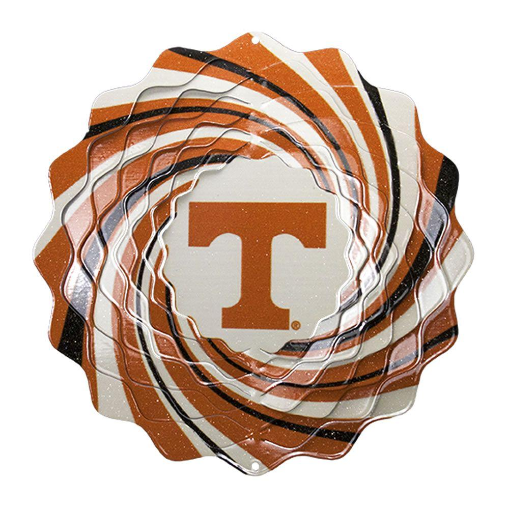 Iron Stop 10 in. University of Tennessee Collegiate Wind Spinner