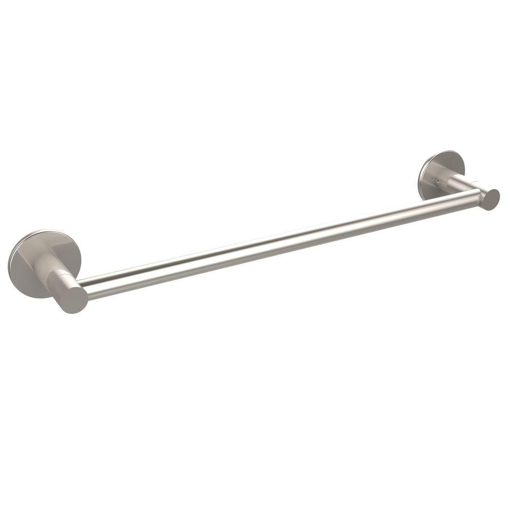 Fresno Collection 18 in. Towel Bar in Satin Nickel