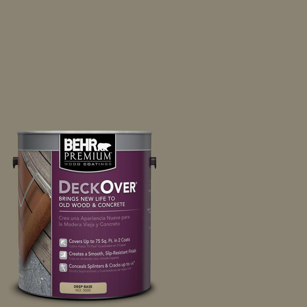 BEHR Premium DeckOver 1-gal. #SC-154 Chatham Fog Wood and Concrete