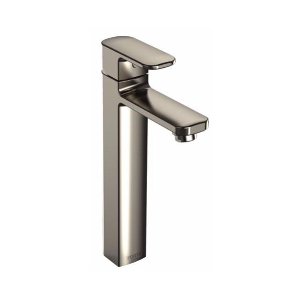 Upton Single Hole Single-Handle Bathroom Faucet in Brushed Nickel