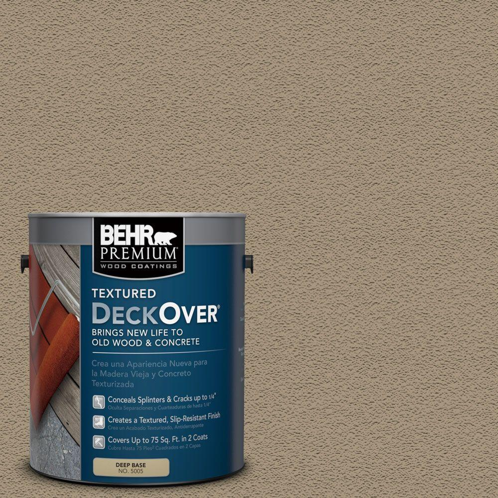 BEHR Premium Textured DeckOver 1-gal. #SC-151 Sage Wood and Concrete Coating
