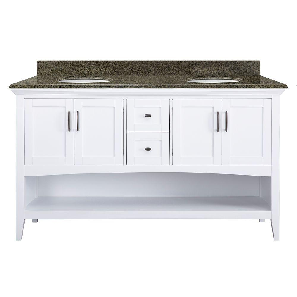 Home Decorators Collection Brattleby 61 in. W x 22 in. D