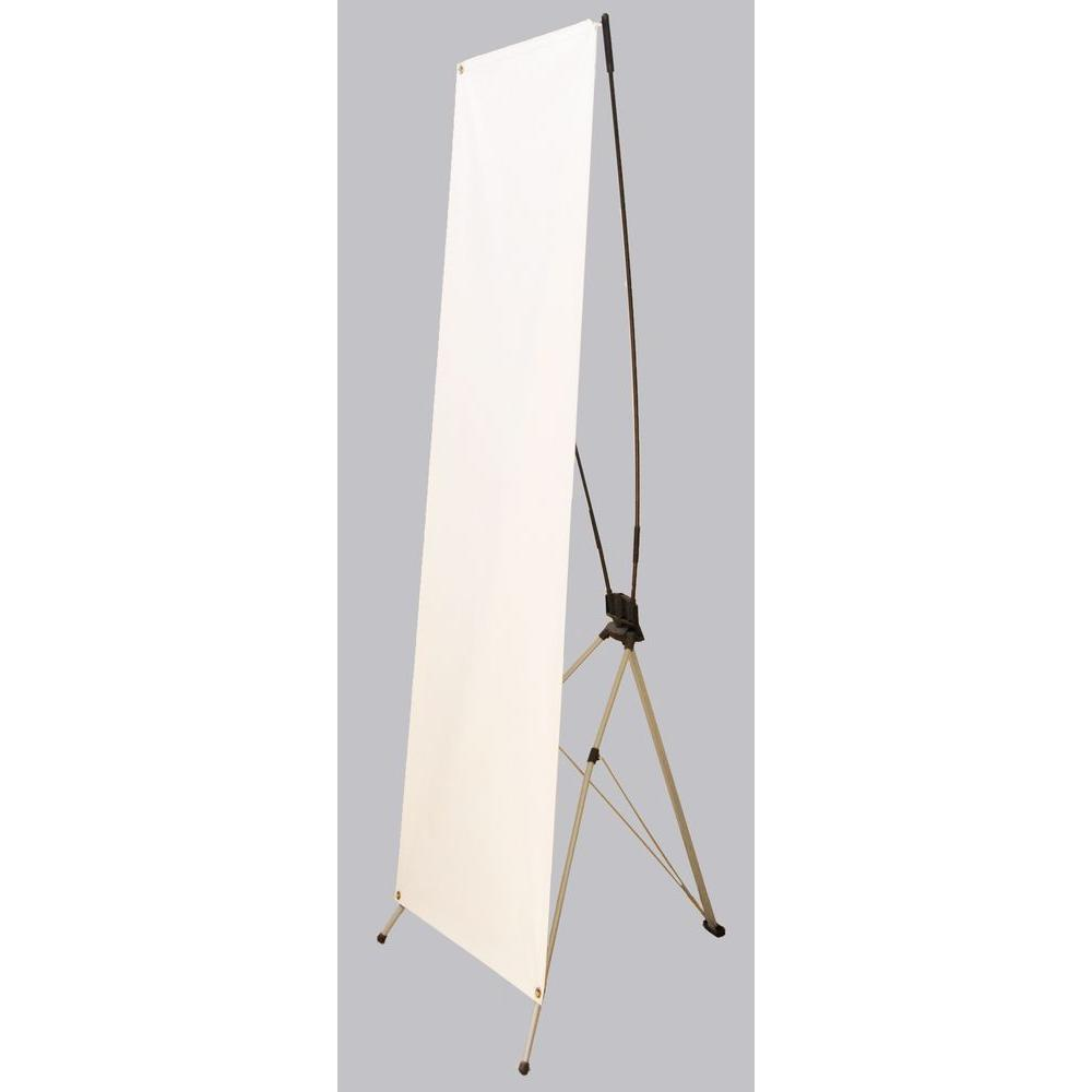 61 in. x 24 in. Tri-Stand Banner Stand, Silver Sale $33.36 SKU: 202487791 ID: A-EBS61 UPC: 762529050187 :