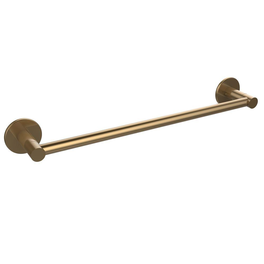 Allied Brass Fresno Collection 24 in. Towel Bar in Brushed Bronze-FR-41/24-BBR