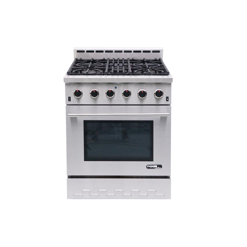 NXR Entree 30 in. 4.5 cu. ft. Professional Style Gas Range