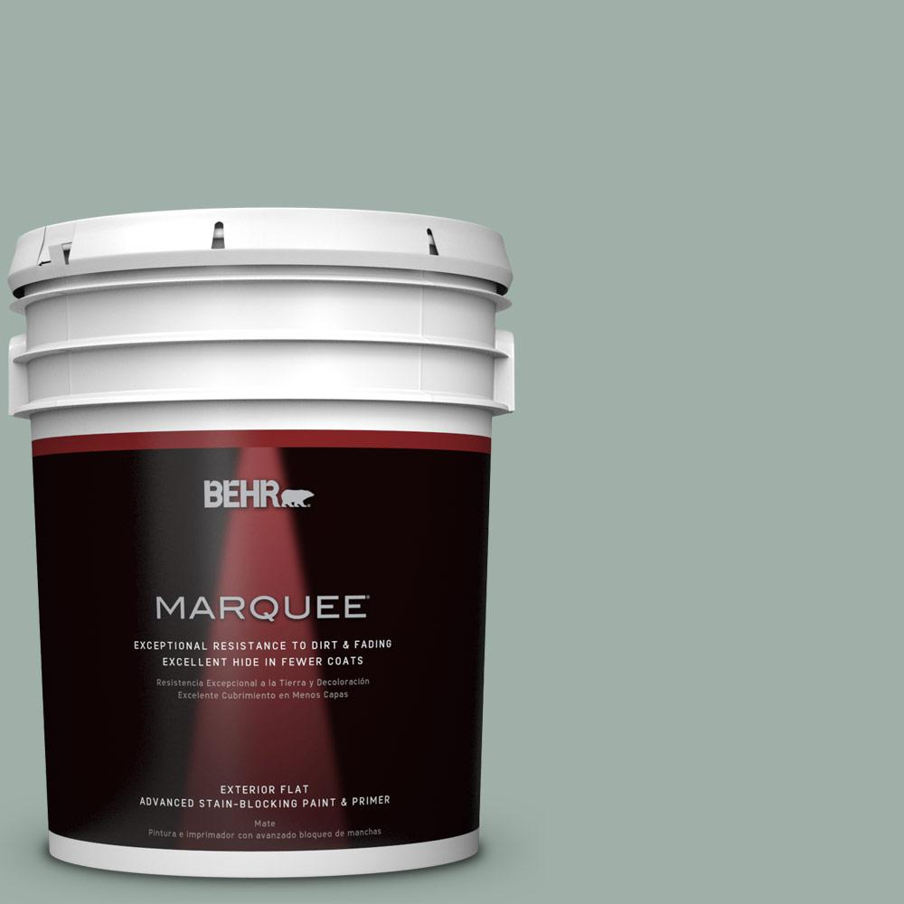 BEHR MARQUEE Home Decorators Collection 5-gal. #HDC-CT-22 Aged Jade Flat