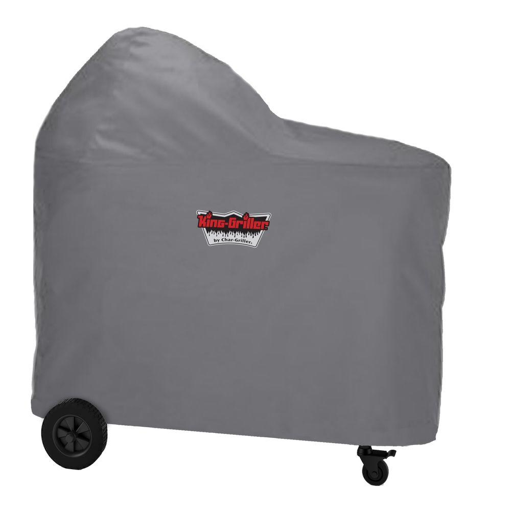Char-Griller Akorn Kamado Cart Grill Cover-6555 - The Home Depot