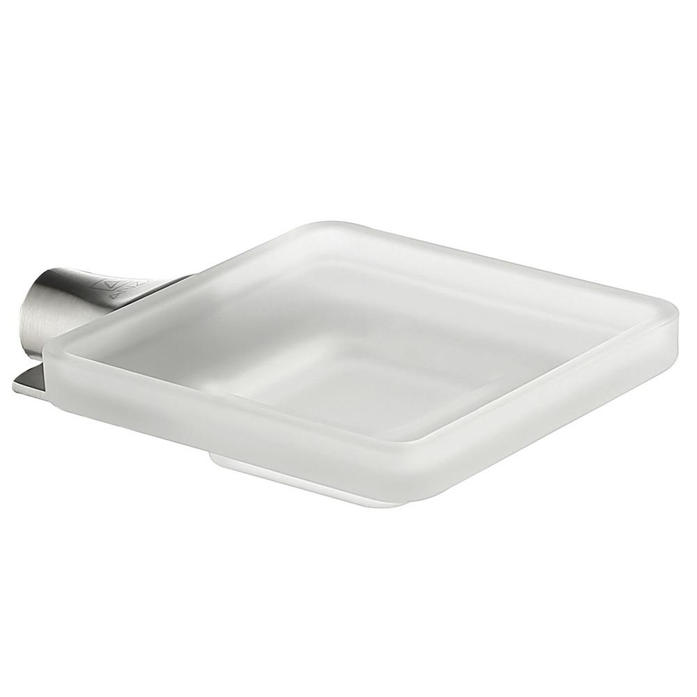 Essence Series Soap Dish in Brushed Nickel