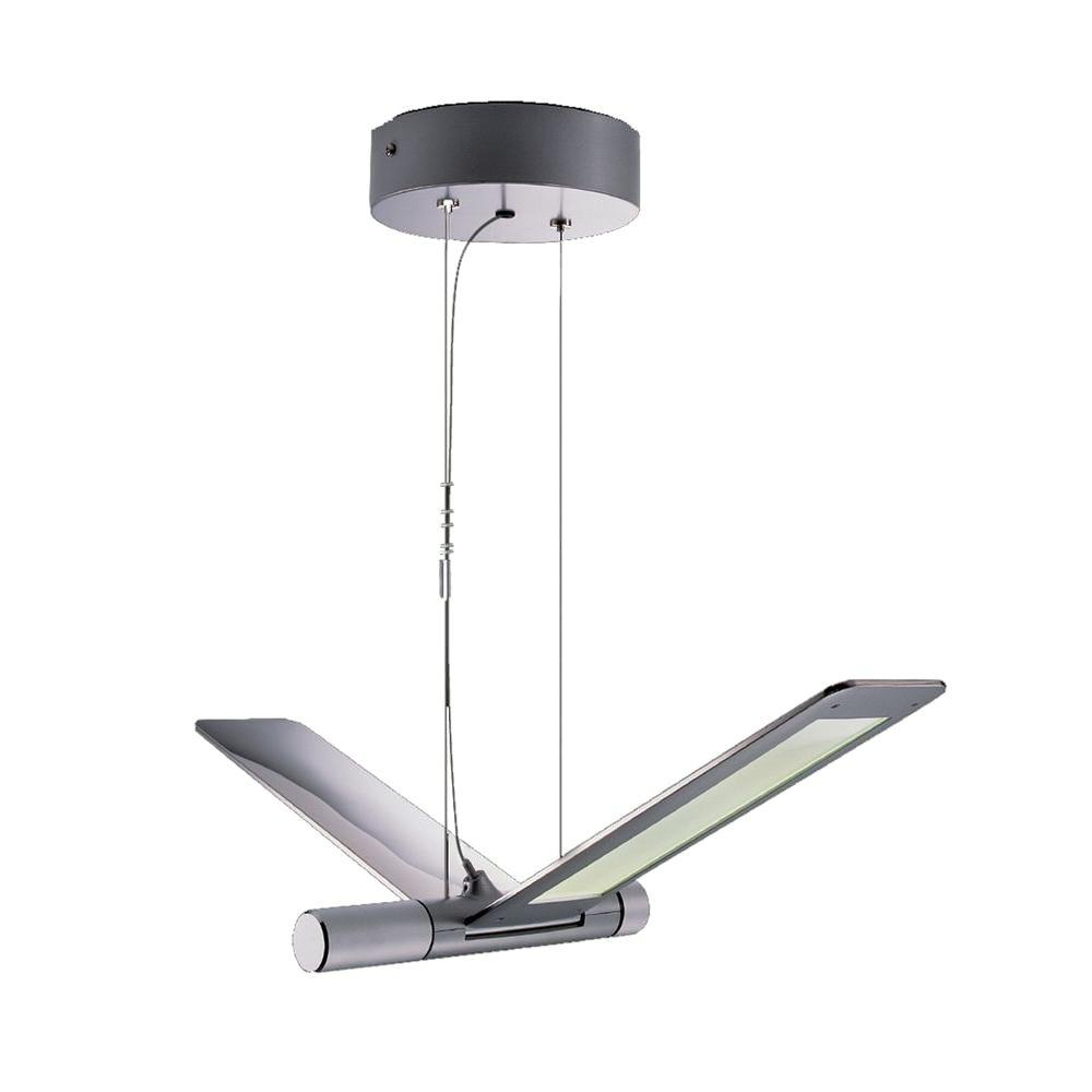 Filament Design Duran 144-Light Ceiling Silver LED Pendant-DISCONTINUED