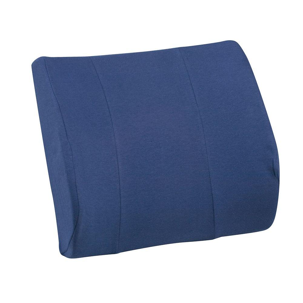 Cushion Relax-A-Bac with Strap in Blue-555-7302-2400 - The Home Depot
