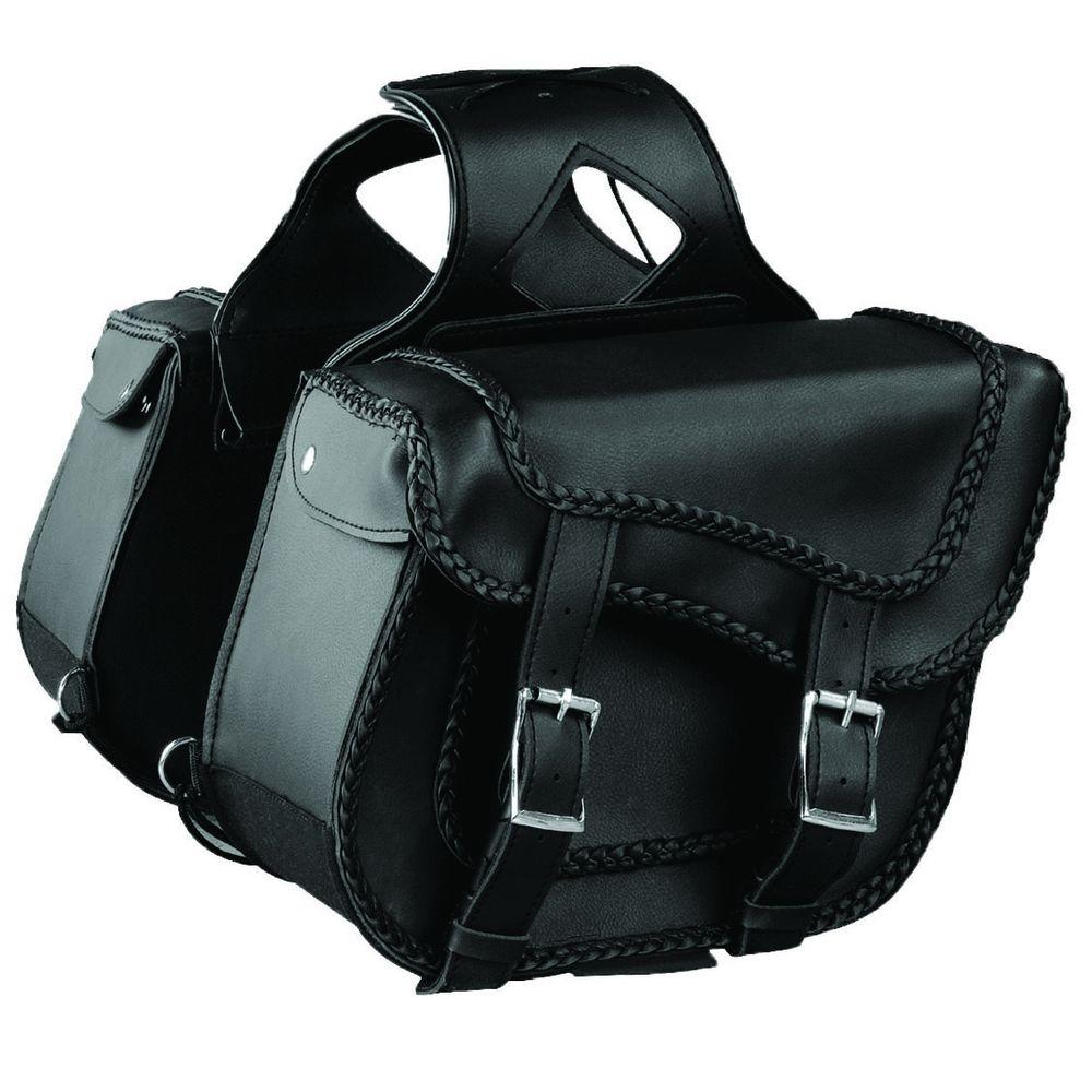 Raider Removable Zip Off Motorcycle Saddlebag