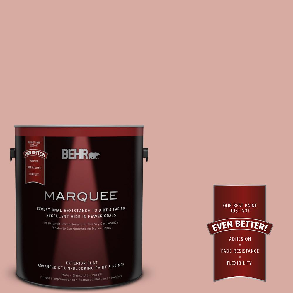 1 gal. #T17-06 Everything's Rosy Matte Exterior Paint