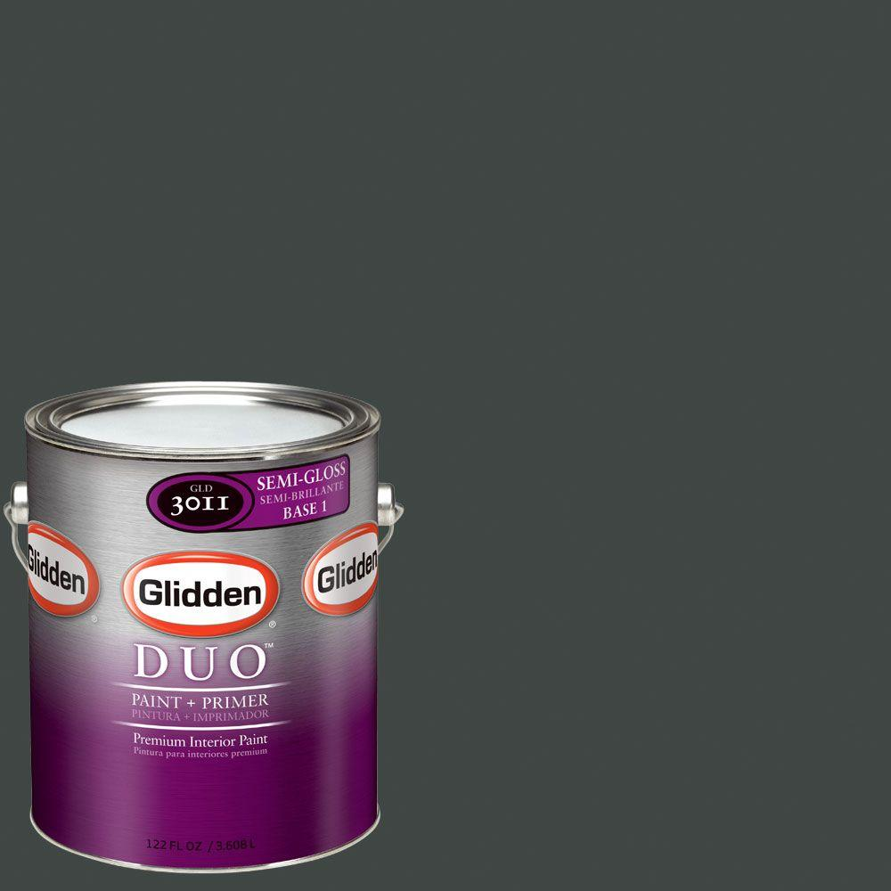 Glidden DUO Martha Stewart Living 1-gal. #MSL140-01F Avocado Peel Semi-Gloss Interior Paint with Primer - DISCONTINUED