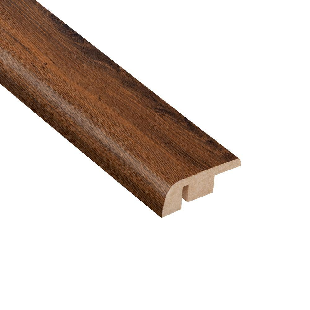 Home Legend Carmel Canyon Oak 1/2 in. Thick x 1-1/4 in. Wide x 94 in. Length Laminate Carpet Reducer Molding