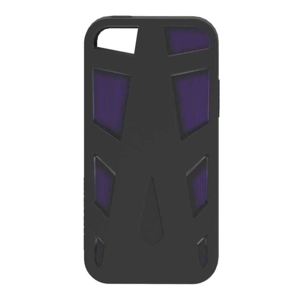 Impact Gel Xtreme Armour Phone Case for iPhone4/4S - Black/Purple