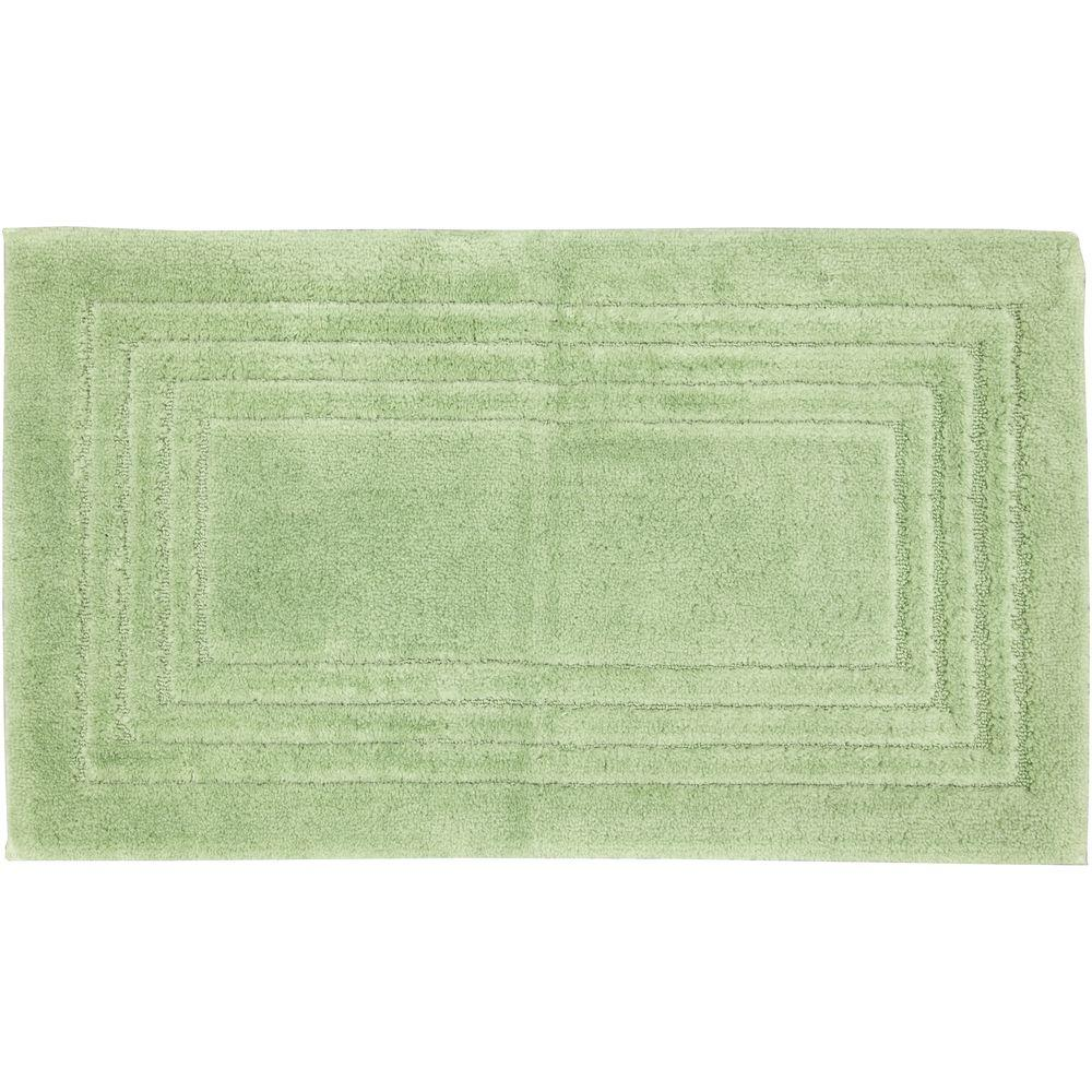 Mohawk Green Shadow 20 in. x 34 in. Bath Mat-DISCONTINUED