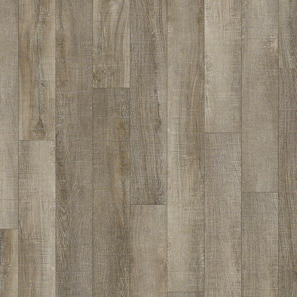 Austin 6 in. x 48 in. Point Blank Resilient Vinyl Plank