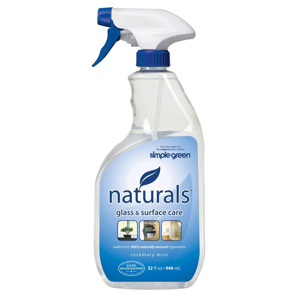 Simple Green 32 oz. Naturals Glass and Surface Care (6-Case)-3110000612302 -