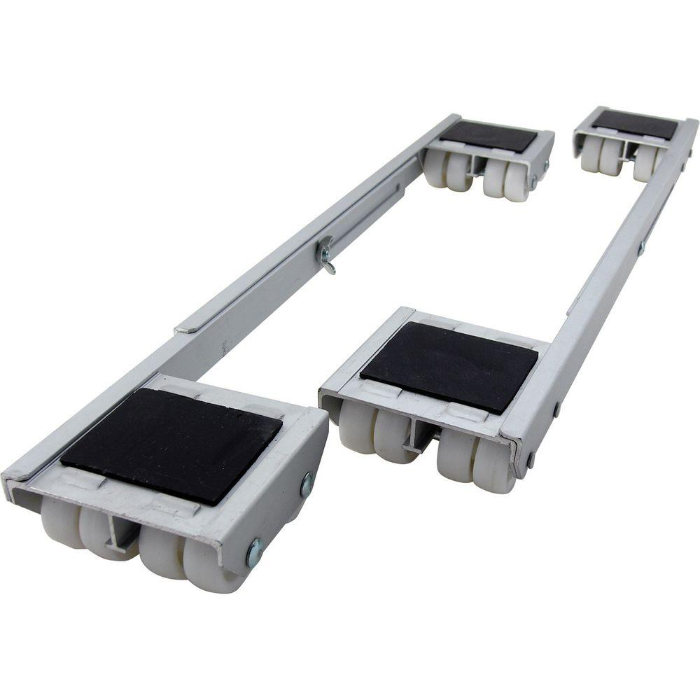 18 1 4   28 in  Aluminum Steel Appliance Rollers  2. Glides   Guides   Furniture Accessories   The Home Depot