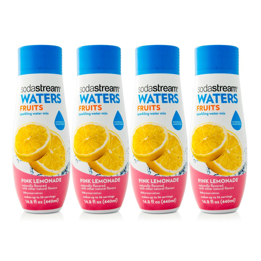440 ml Waters Fruits Sparkling Pink Lemonade Drink Mix (Case of
