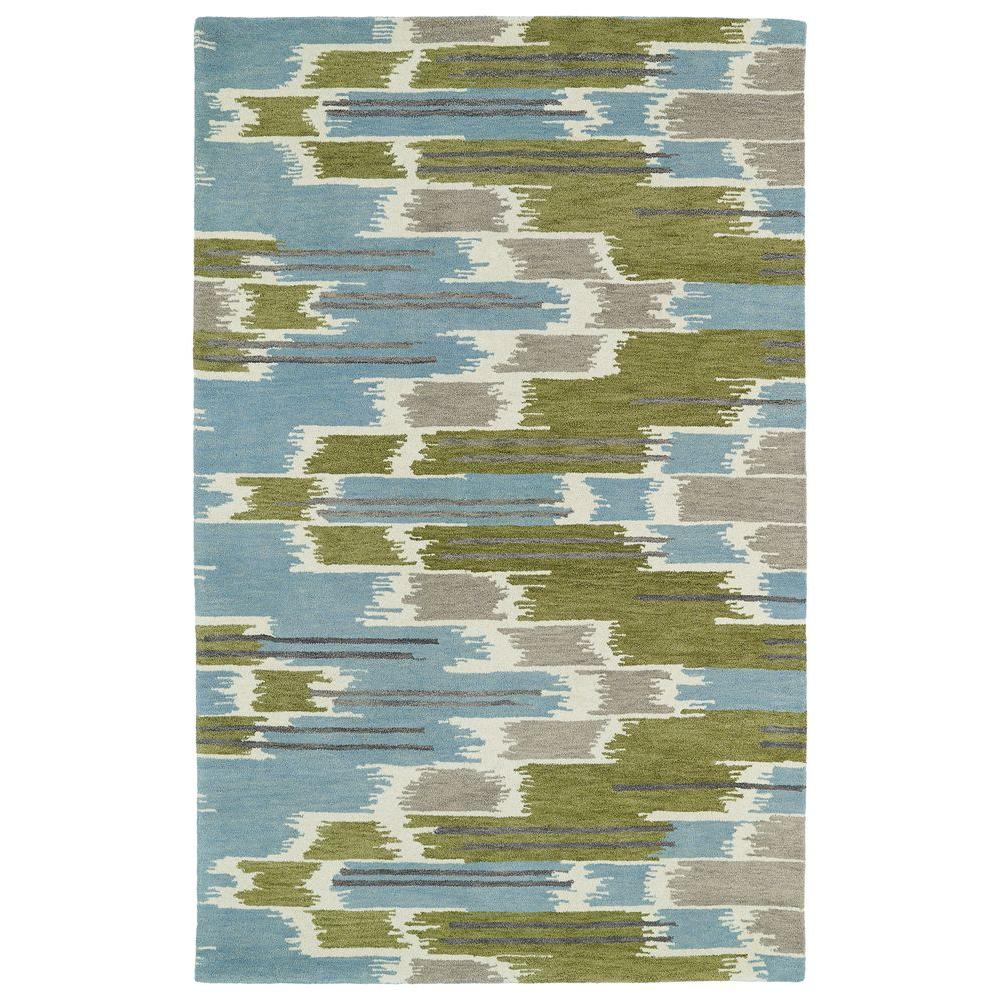 Global Inspiration Wasabi 5 ft. x 7 ft. 9 in. Area
