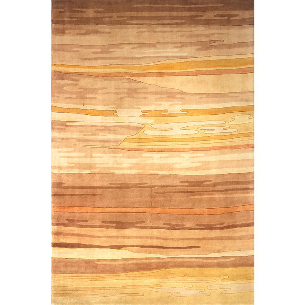 Contempo Sand 5 ft. 3 in. x 8 ft. Area Rug