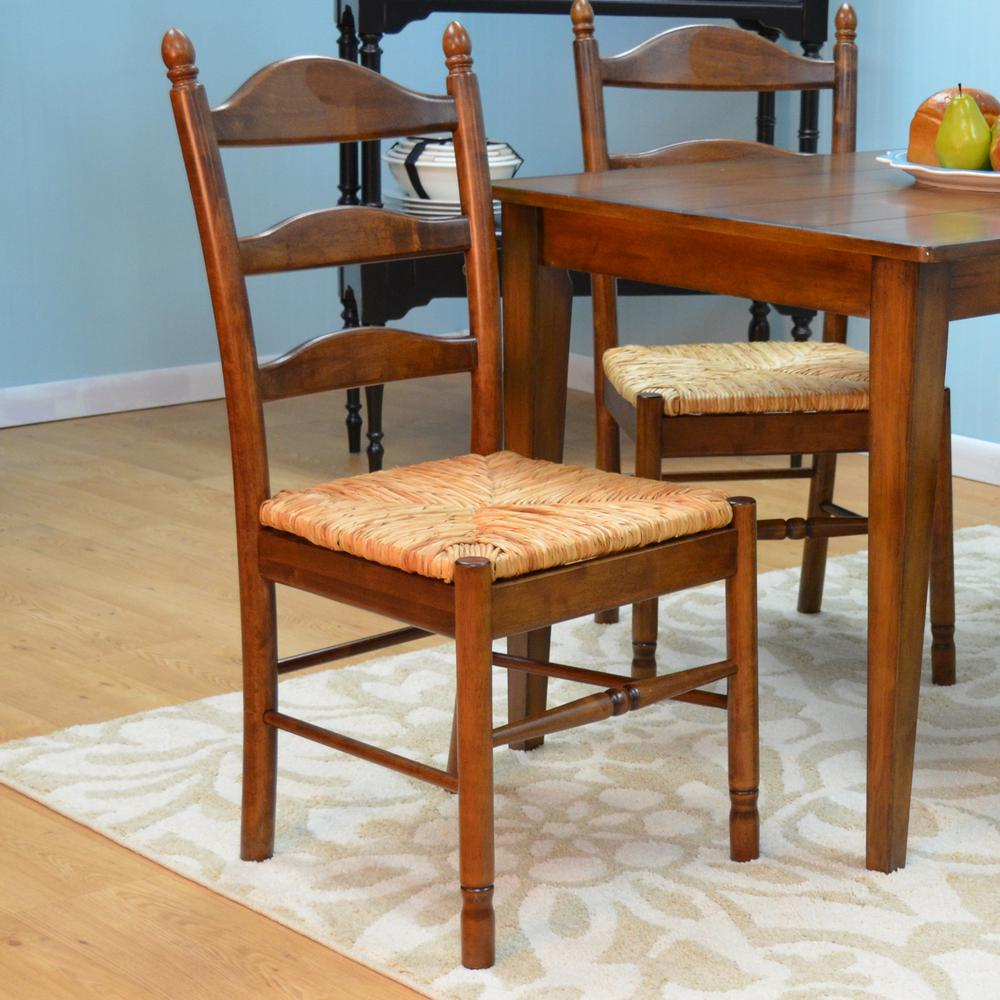 Oak Dining Chair: Carolina Cottage Vera Oak Wood Dining Chair-575-AO